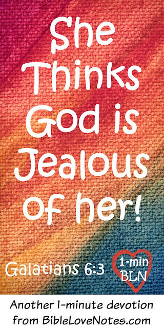 Oprah thinks God is jealous of her!