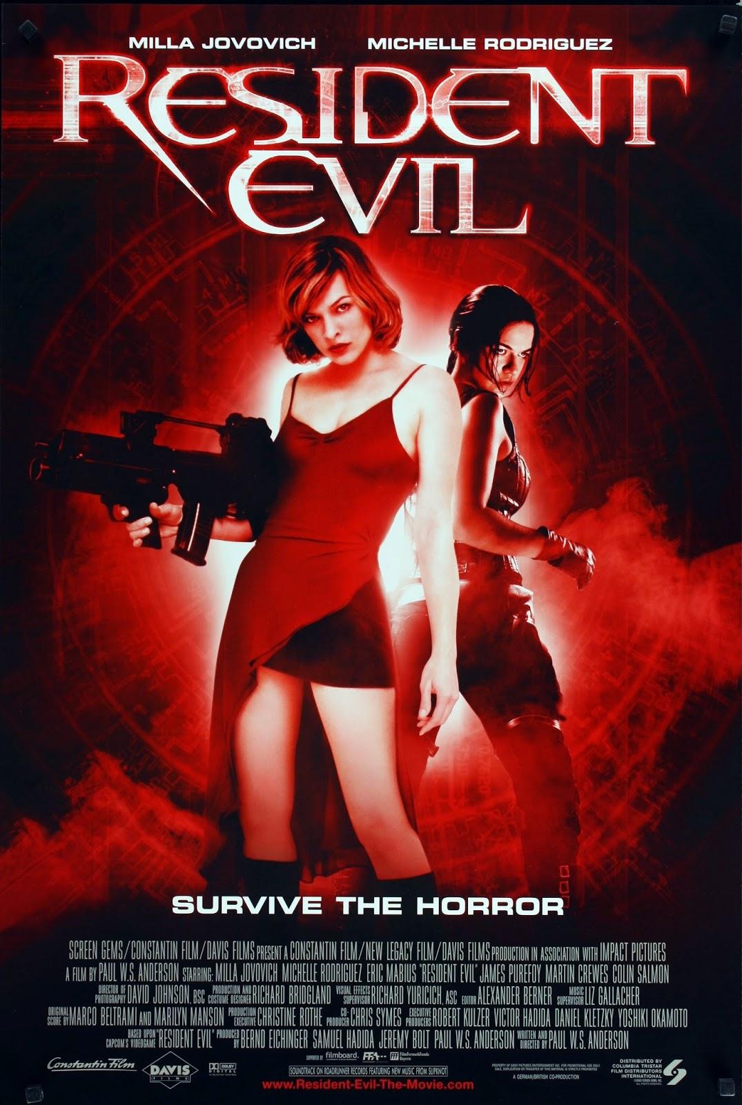 Resident Evil (2002) ταινιες online seires xrysoi greek subs