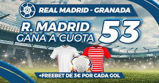 Paston Megacuota Real Madrid vs Granada 23-12-2020