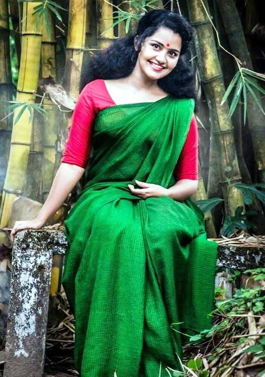 Anupama Parameswaran in Saree