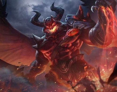 Những kĩ năng của Maloch sẽ gây sát thương mạnh lên địch thủ.
