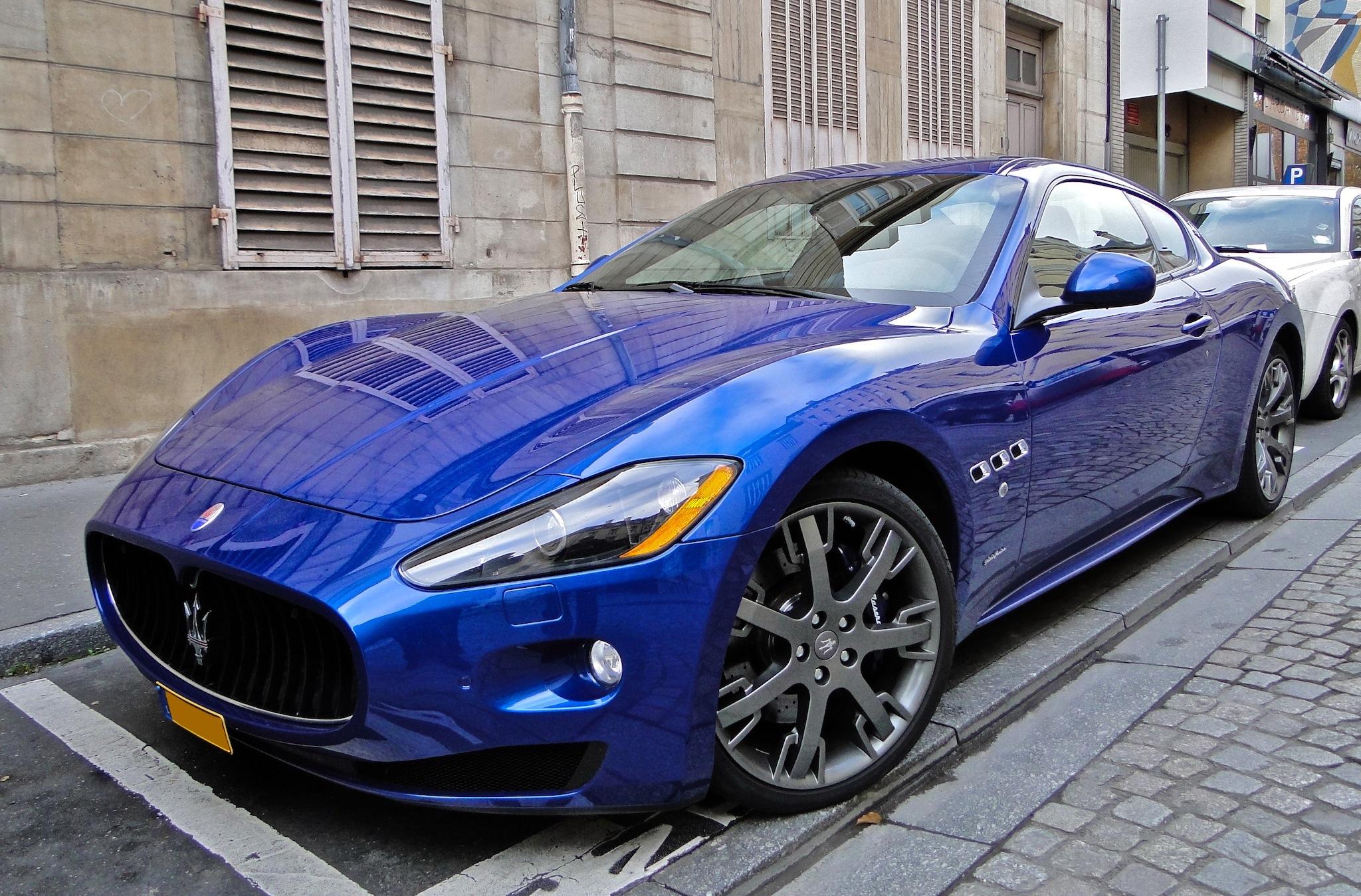 Where Is Maserati Paint Code