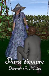 Ilustración para el relato breve de romance histórico Para siempre
