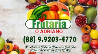 Frutas e verduras novas? só na Frutaria o Adriano!