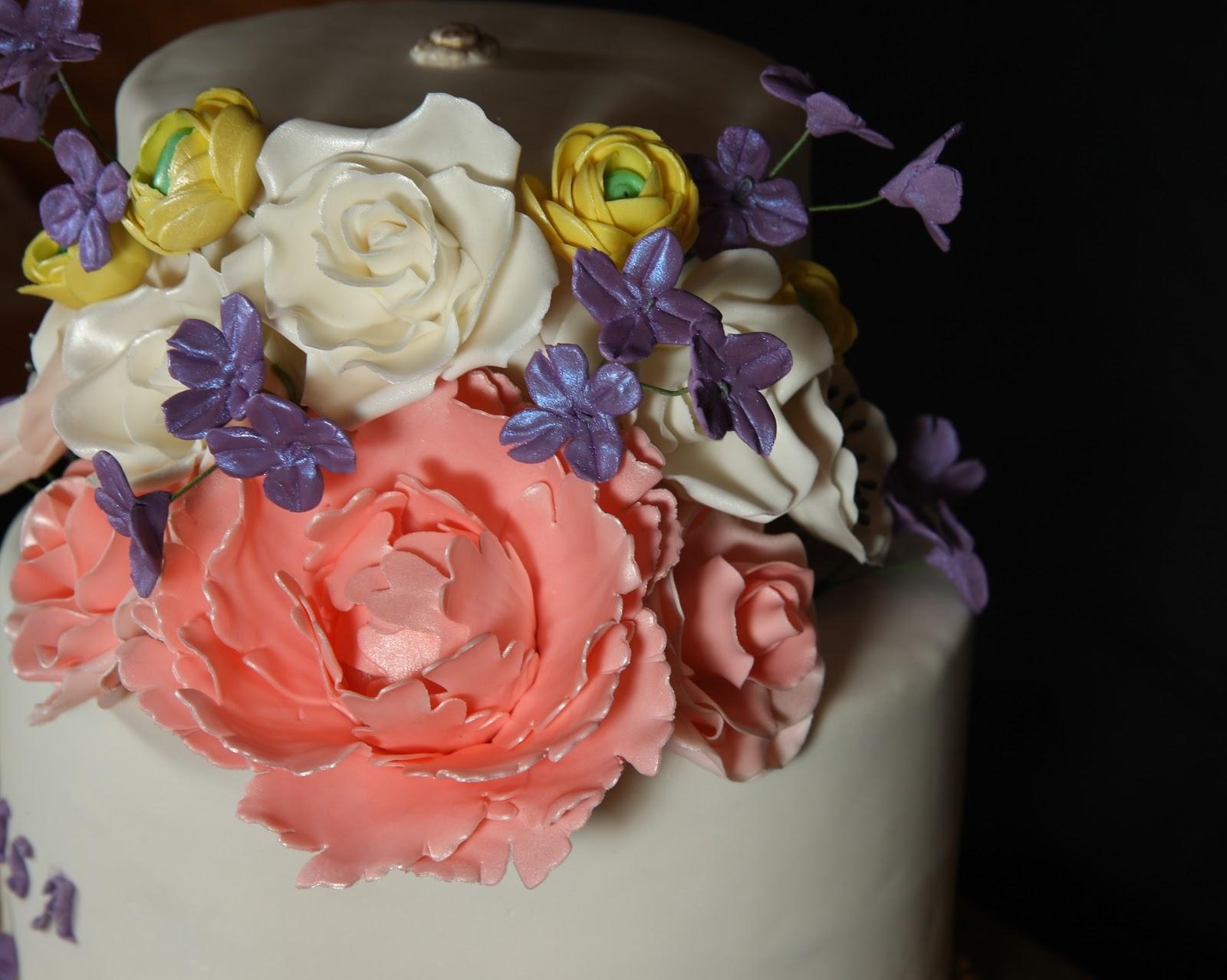 Cake Gumpaste Decorations