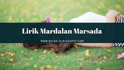 Lirik Mardalan Marsada