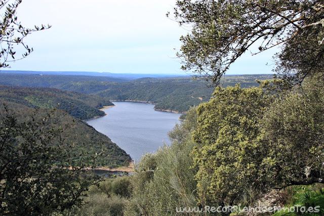 Río Tajo desde el Castillo de Monfragüe