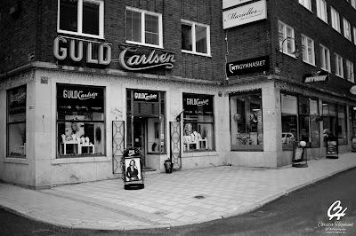 Guld Carlsén, guldsmedsbutik