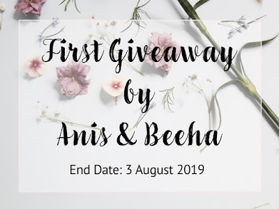 First Giveaway by Anis & Beeha, Blogger Giveaway, Hadiah,