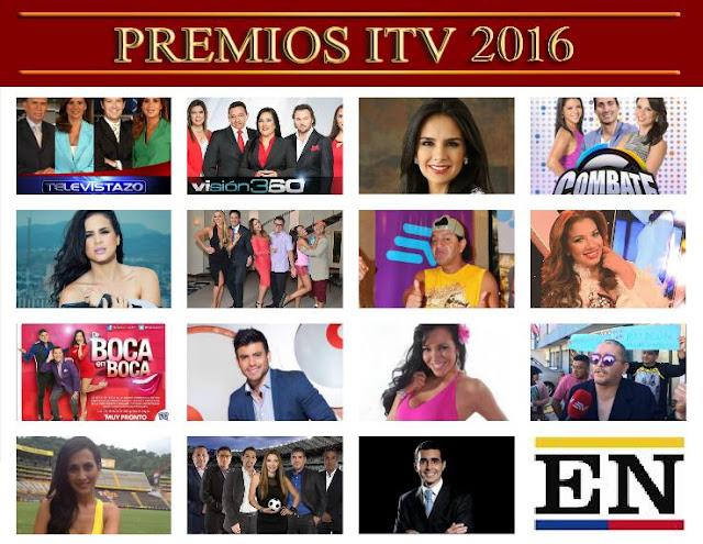 premios itv 2016 ganadores
