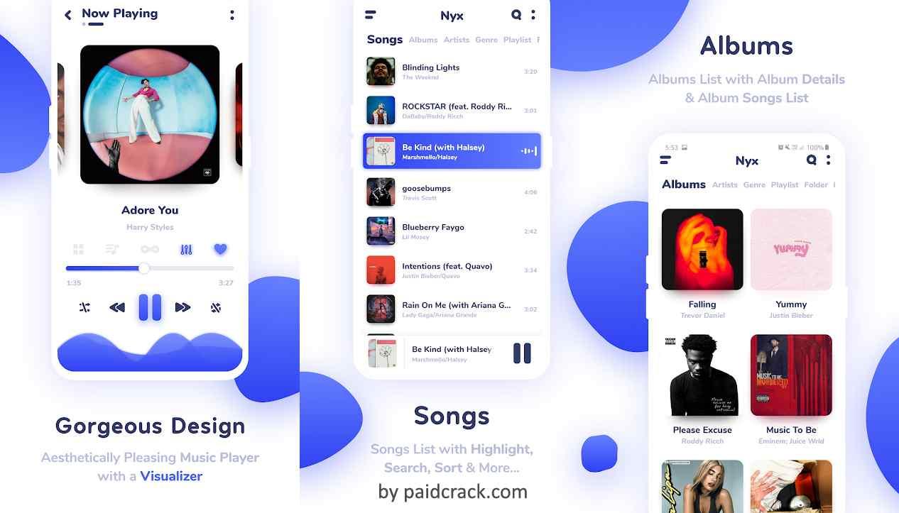 Nyx Music Player Pro Mod Apk 1.1.6