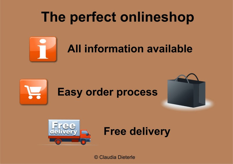 What is important for your perfect onlineshop?