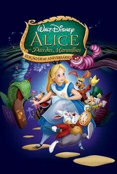 Alice no País das Maravilhas Torrent - BluRay 720p/1080p Dual Áudio