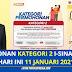 Permohonan Pengeluaran i-Sinar Kategori 2 Dibuka Hari Ini (11 Januari 2021) - Rujuk Cara Mohon Pengeluaran Kategori 2