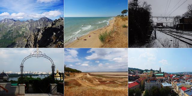 Od Rysów, przez wybrzeże Ukrainy, do Kijowa i Przemyśla.