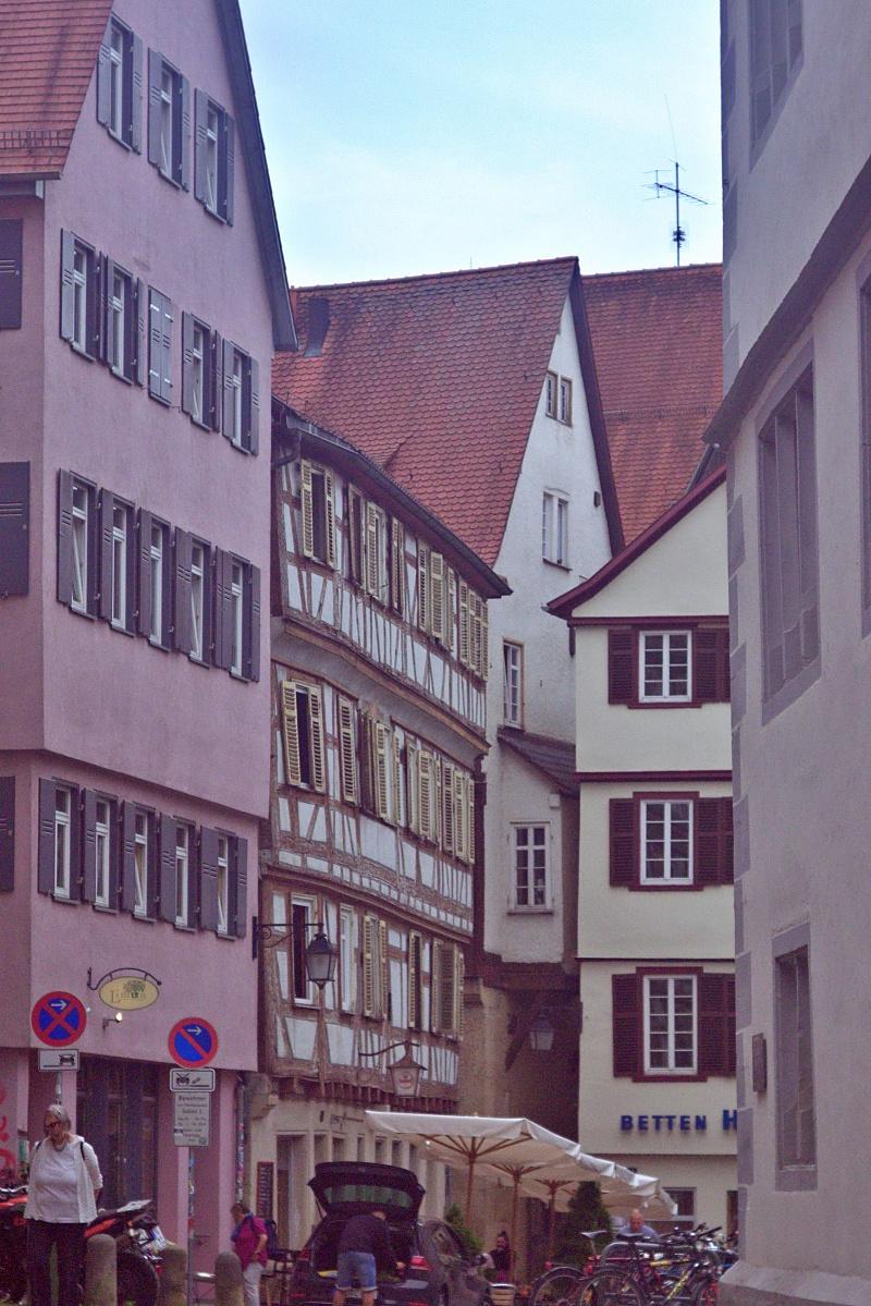 Straßenszene in Tübingen