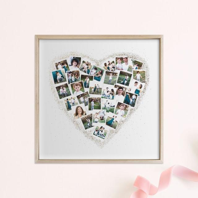 Heart Snapshot Photo Frame