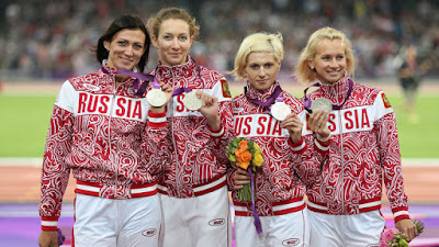 Russia stripped of 2008 4x400m relay silver over doping