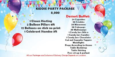 Affordable Kiddie Party Package in Cebu