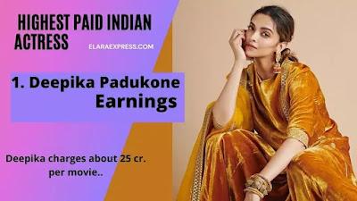 Deepika Padukone salary per film