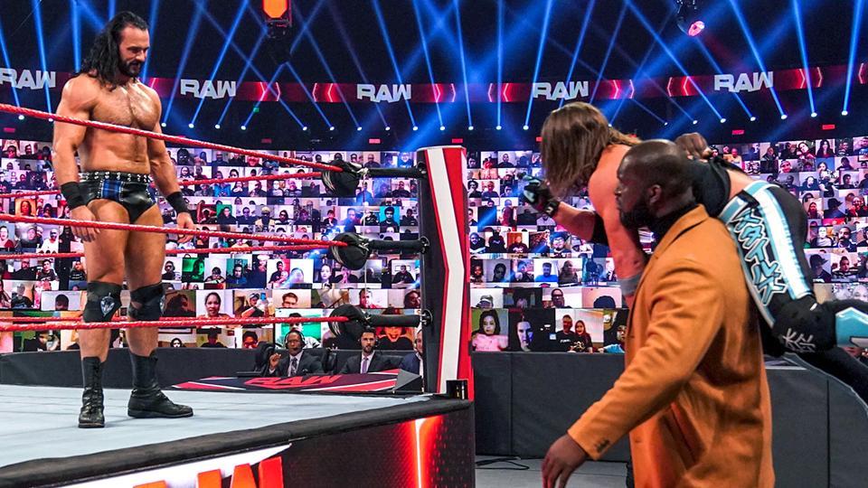 """Grande estipulação é anunciada para """"Drew McIntyre vs. AJ Styles"""" no WWE TLC"""