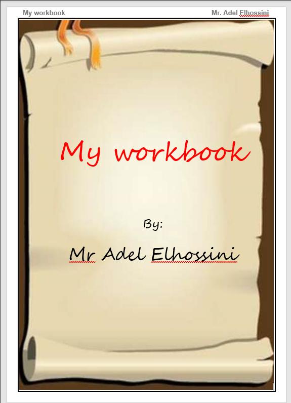 كتاب Workbook وورد الصف الثالث الإعدادى الترم الثانى 2021 مستر عادل الحسينى