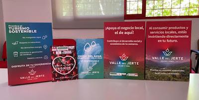 Valle del Jerte, COLOR Y VIDA. Nueva campaña de promoción.