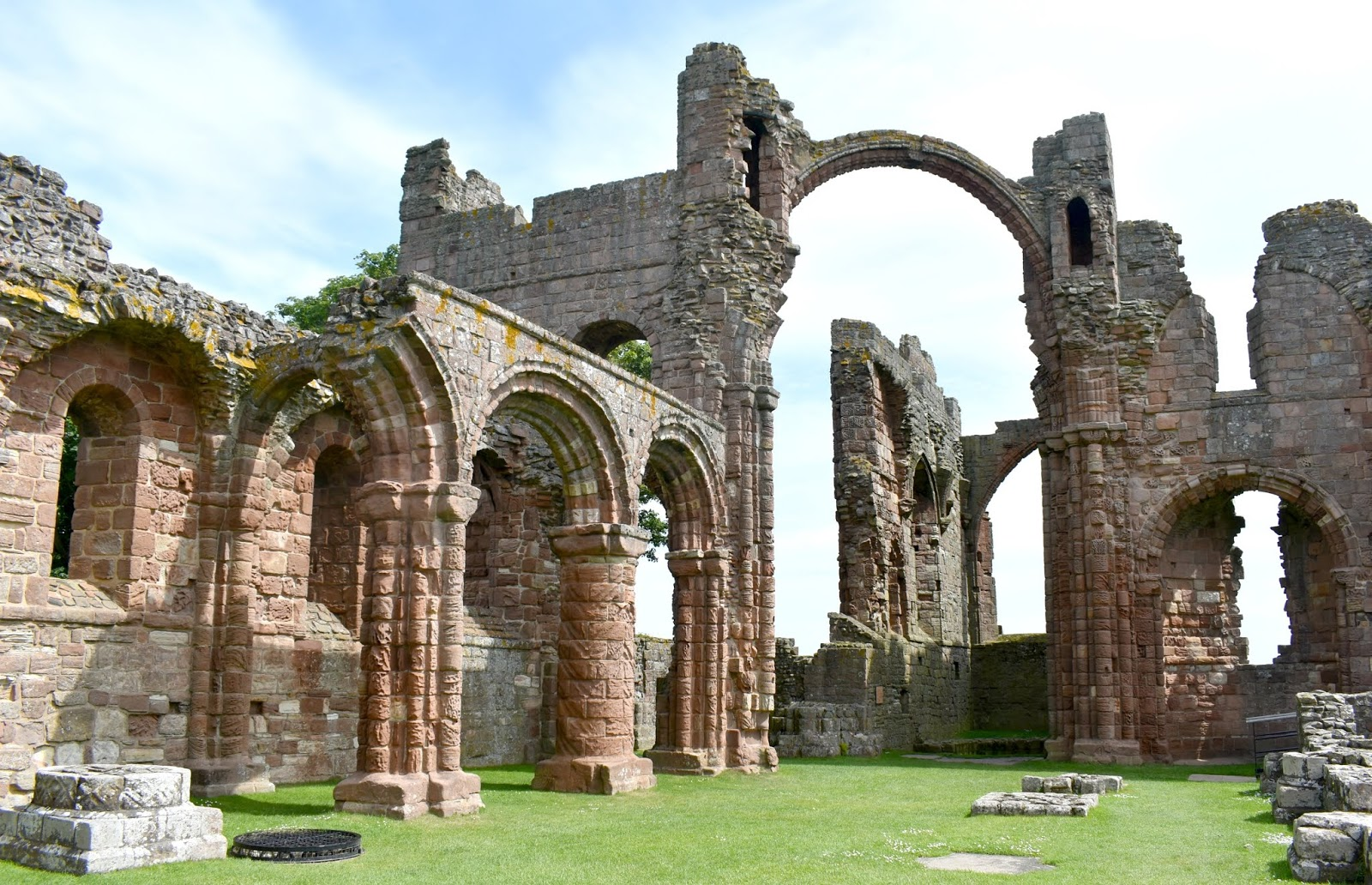 Holy Island of Lindisfarne - Lindisfarne Priory