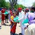 सपा के वीरेन्द्र यादव ने खोड़ा में बांटे जरूरतमंदों को राशन किट  SP's Virendra Yadav distributed ration kits to the needy in Khoda
