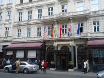 Royal Families Hotel Sacher In Vienna Austria