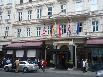 hotel Sacher Vienna - own picture taken in 2011