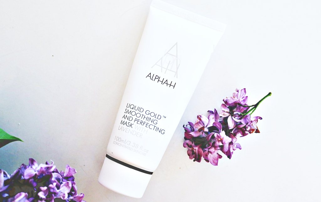 LIQUID GOLD SMOOTHING AND PERFECTING MASK WITH LAVENEDER / ALPHA H RECENZJA