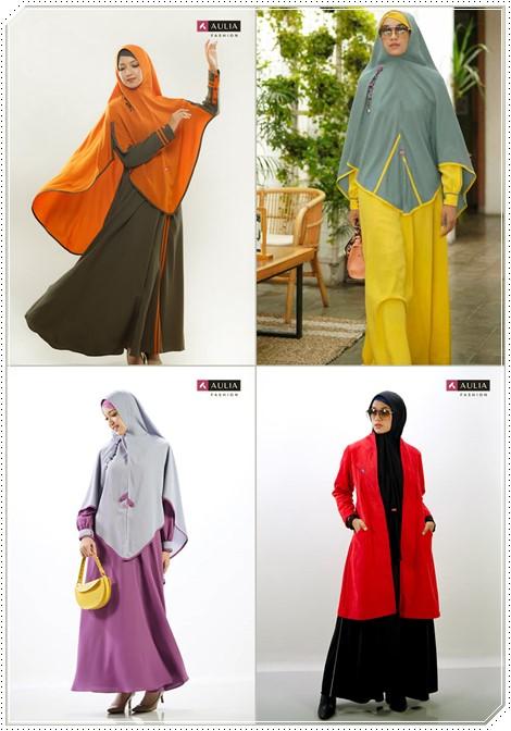 Set gamis syari Aulia Fashion