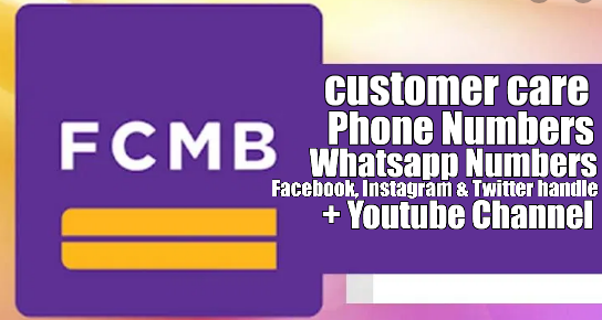 FCMB Customer Service Phone numbers, Whatsapp Number, Facebook, Twitter & Instagram Pages