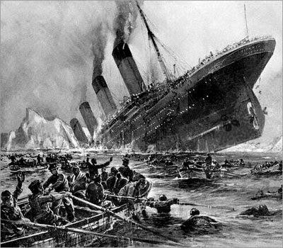 TRAGEDI Kapal Titanic dan Kisah Penumpang yang Selamat