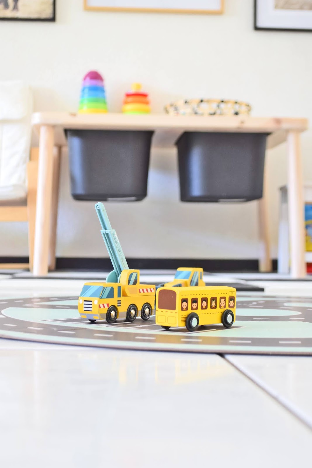 Drewniane zabawki dla chłopczyka