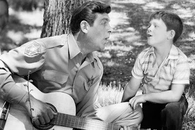 Late American Actor, Andy Griffith with his co-actor