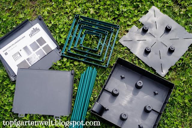 MaxiTom | Tomatenkübel mit Wasserspeicher und Rankhilfe - Gartenblog Topfgartenwelt