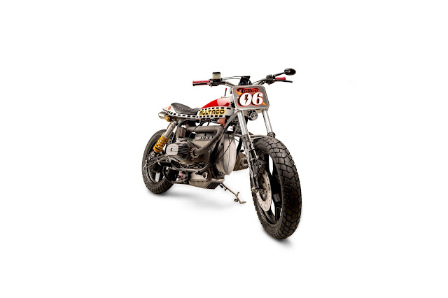 R80RS Tracker Motorcycle