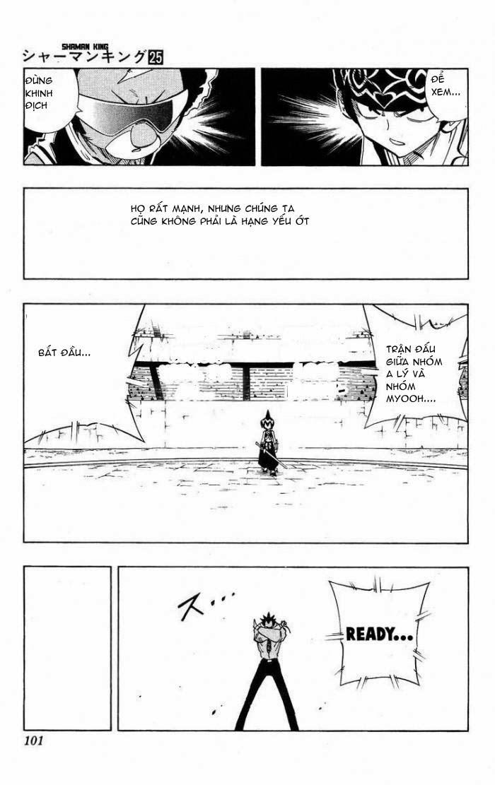 Shaman King [Vua pháp thuật] chap 220 trang 15