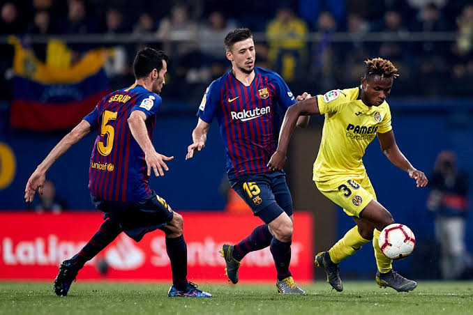 Samuel Chukwueze set to face Barcelona in La Liga Crucial Fixture