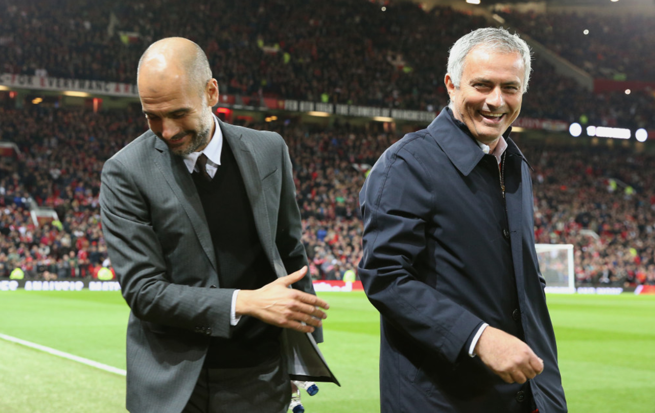 Jose Mourinho and Pep Guardiola will renew their rivalry this Saturday