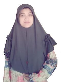 jilbab landak