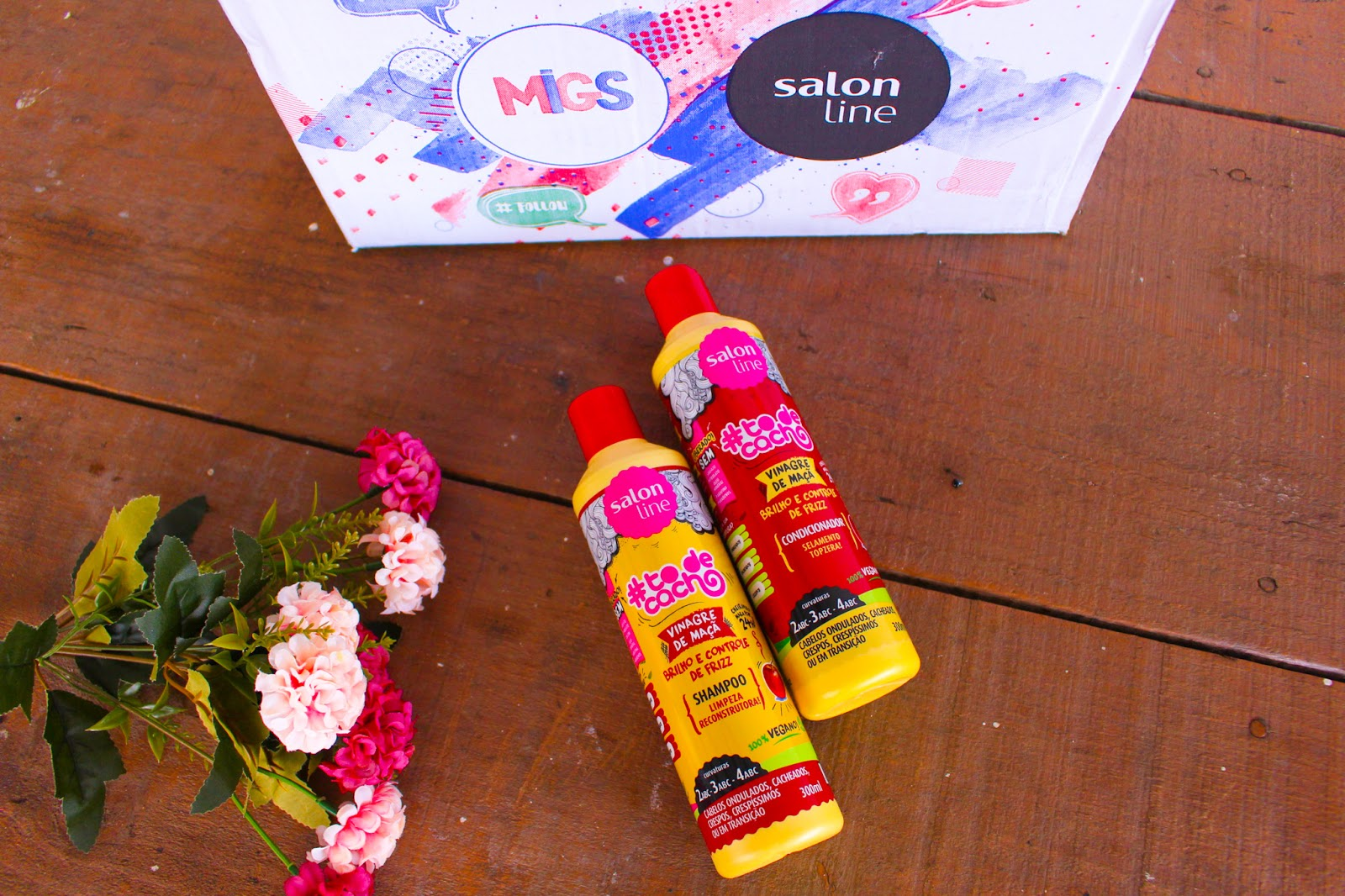 Recebidos  do mês de Junho da Salon Line #Migs