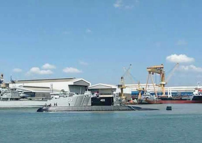 Kapal Selam Nagapasa 403