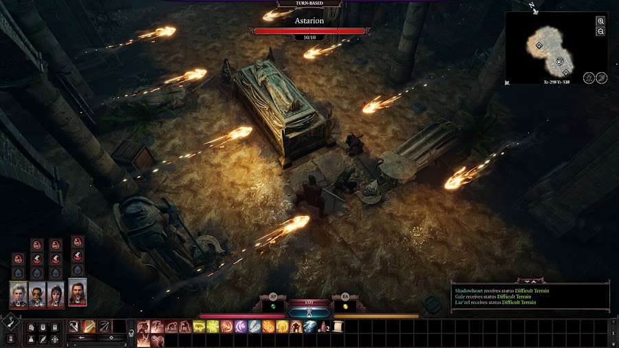 baldur's gate 3 pax east 2020 dungeons and dragons evolved turn-based combat strategy cameras environmental interaction gameplay reveal dungeons and dragons the black hound pc google stadia larian studios