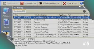 Keylogger Hack