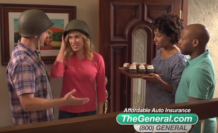 The General Car Insurance: Who Is That Actor, Actress In That TV Commercial?: The