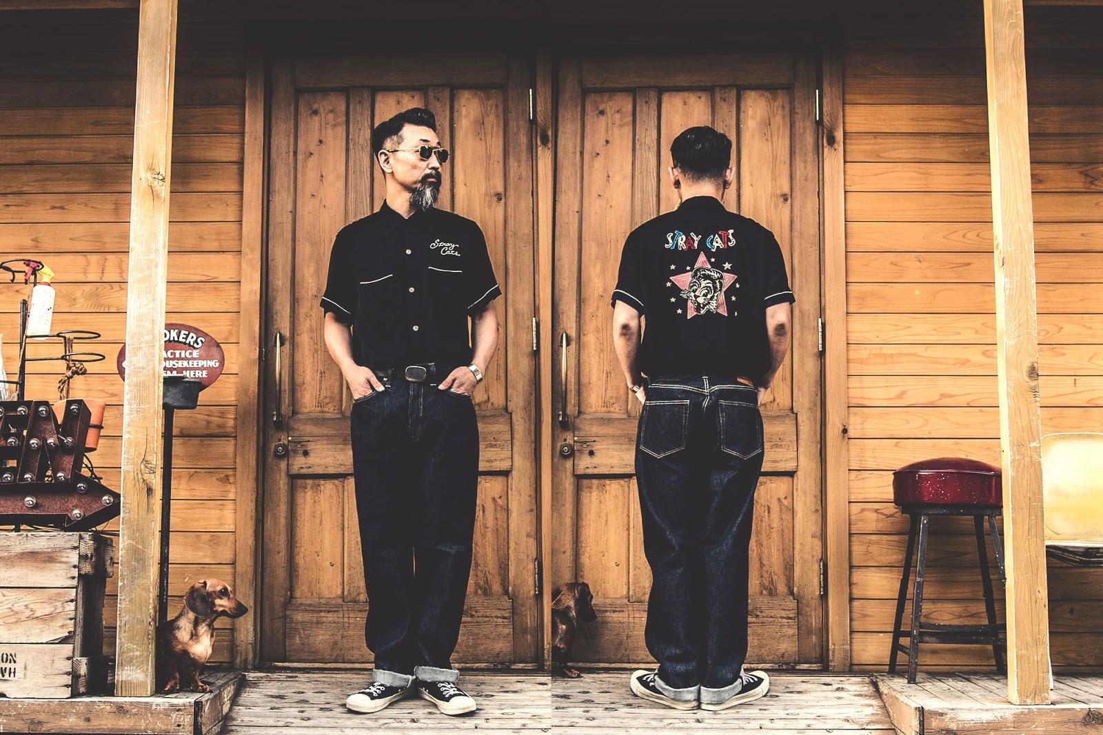 スタイルアイズ ストレイキャッツ ボーリングシャツ アロハシャツ アロハ 無地ボーリングシャツ オープンカラーシャツ フィフティーズシャツ