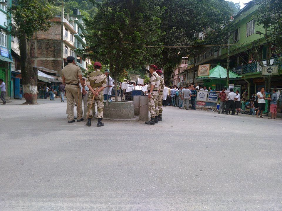 Indefinite strike' called by the All Sikkim Taxi Drivers